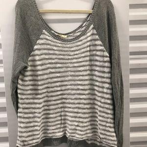 Hollister Striped Sweater